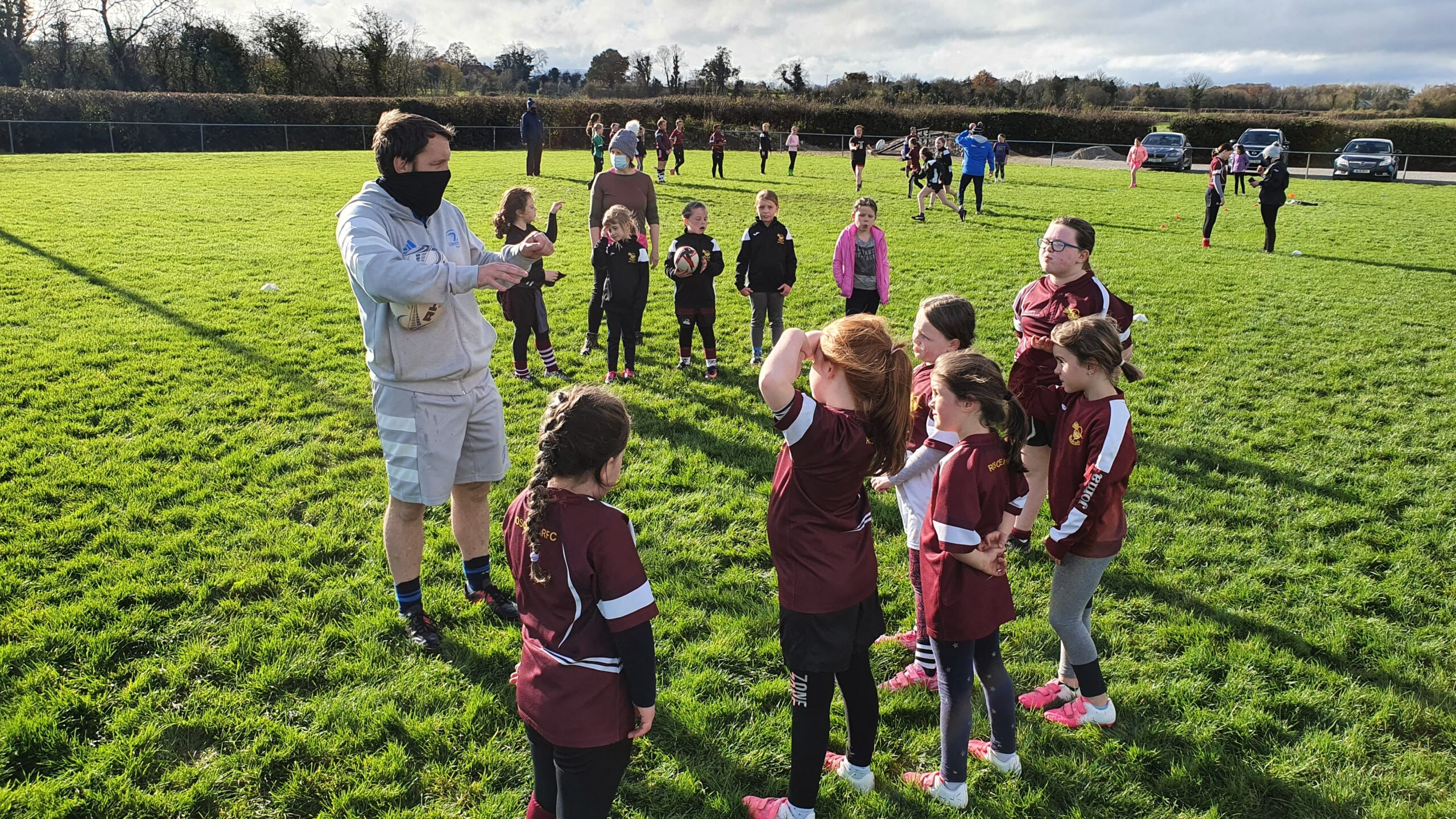 Boys and Girls Minis Rugby becoming increasingly popular.
