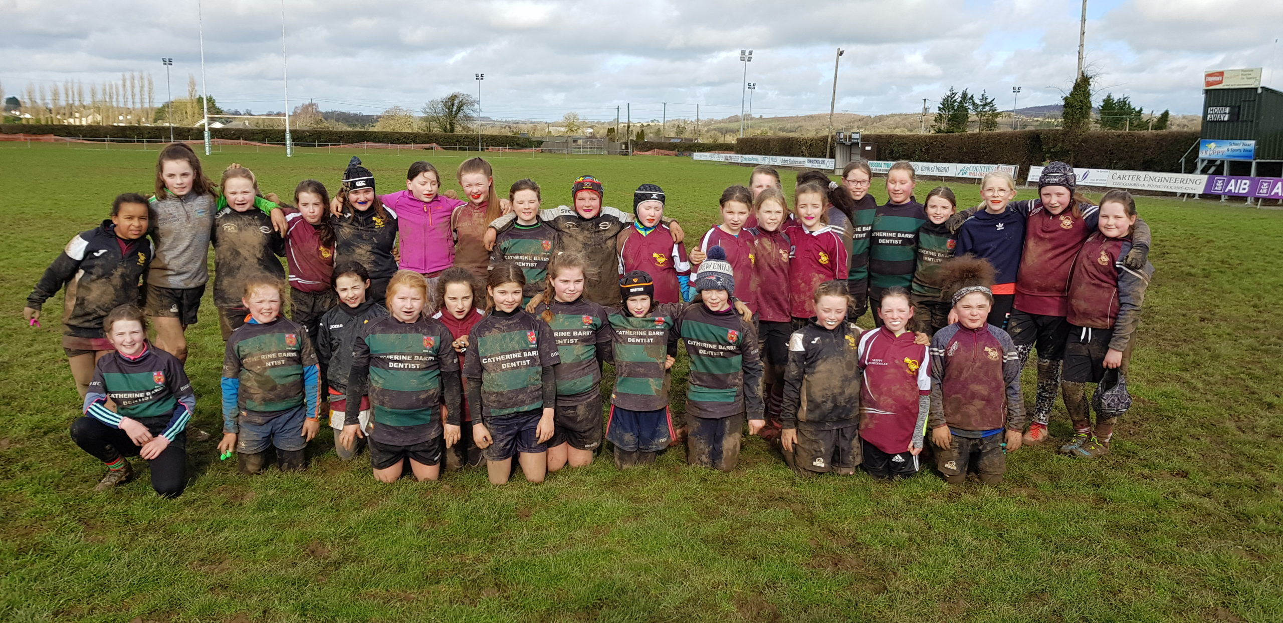 Roscrea Girls welcome neighbours Birr for super morning of Rugby